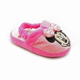 Disney Mickey Mouse Clubhouse Girl's 'Minnie Slippers' Polyester Casual Shoes