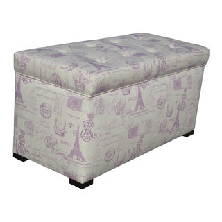 Angela Paris Match Grape Storage Trunk