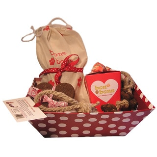 Organic Dog Treat Gift Basket