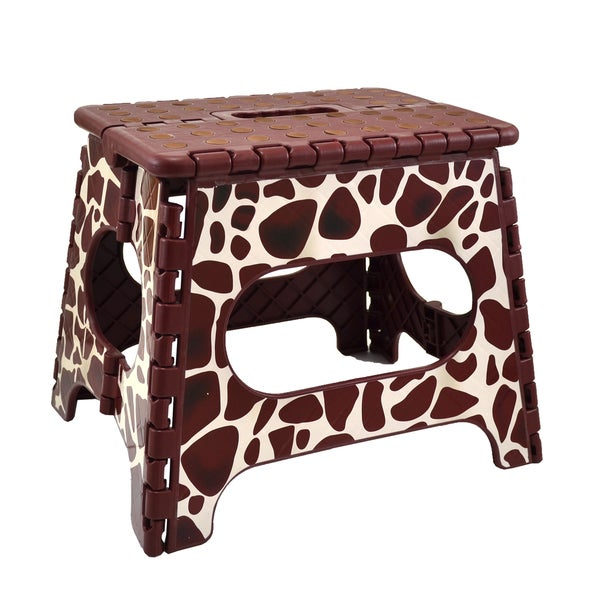 Three to Tango Giraffe Folding Step Stool