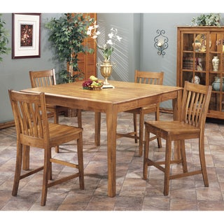 Intercon Cambridge Solid Oak 54-inch Rustic Butterfly Gathering Table