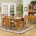 Intercon Cambridge Solid Oak 42-inch Rustic Dinette Table