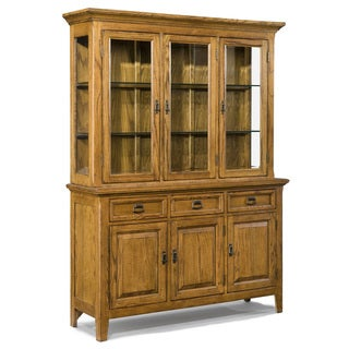 Intercon Lodge Park Solid Oak 57.5-inch China Buffet
