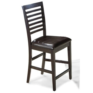 Kashi Slat Ladder-back 24-inch Barstools (Set of 2)
