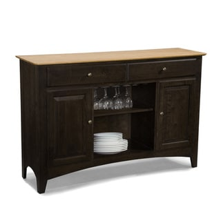 Summit Park Birch 58-inch Server with Wine Rack