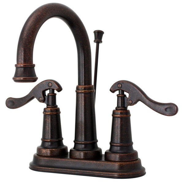 Price Pfister Ashfield Rustic Bronze Centerset Faucet