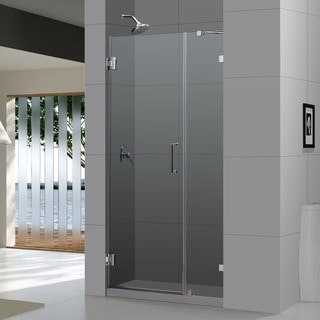 DreamLine Radiance Frameless Shower Door 41-44x72-inch. Not adjustable