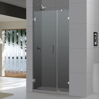 DreamLine Radiance Frameless Shower Door 37-40x72-inch. Not adjustable