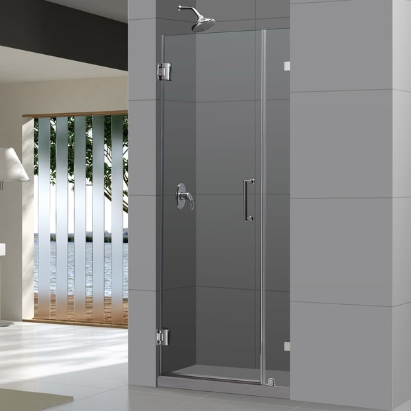 DreamLine Unidoor Lux 29-inch Frameless Hinged Shower Door