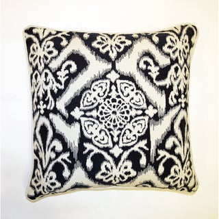 Jar Designs 'Ikat Indigo' Throw Pillow