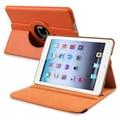 BasAcc Orange Leather Swivel Case for Apple iPad Mini 1/ 2 Retina Display