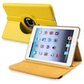 BasAcc Yellow Leather Swivel Case for Apple iPad Mini 1/ 2 Retina Display