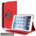 BasAcc Black Leather Swivel Case for Apple iPad Mini