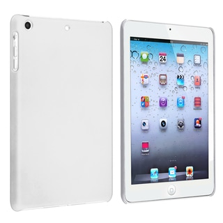 BasAcc White Snap-on Rubber Coated Case for Apple iPad Mini