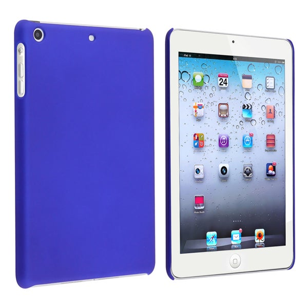 BasAcc Blue Snap-on Rubber Coated Case for Apple iPad Mini