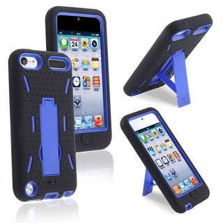BasAcc Black Hard/ Black Skin Hybrid Case for Apple iPhone 5
