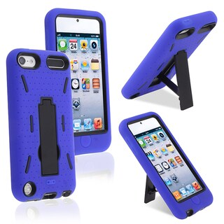 BasAcc Black Hard/ Blue Skin Hybrid Case for Apple iPhone 5