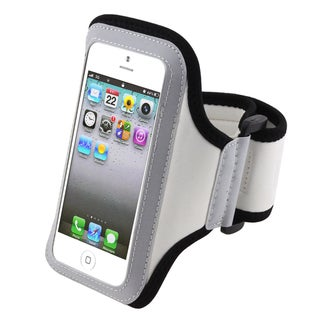 BasAcc White Sportband for Apple iPhone 5/ iPod Touch 5th Generation