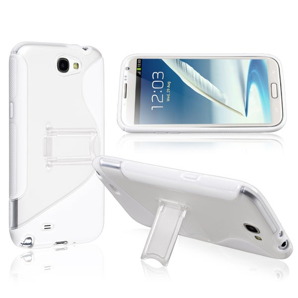 BasAcc TPU Case with Stand for Samsung Galaxy Note II N7100
