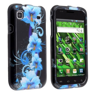 BasAcc Blue Flower Case for Samsung Galaxy S Vibrant 4G i9000/ T959