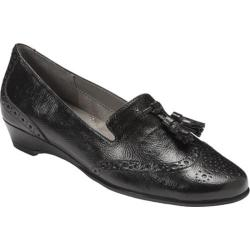 Women's Aerosoles Cream Sota Black Oxfords