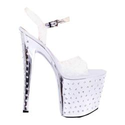Women's Highest Heel Starlite-11 Silver Bottom