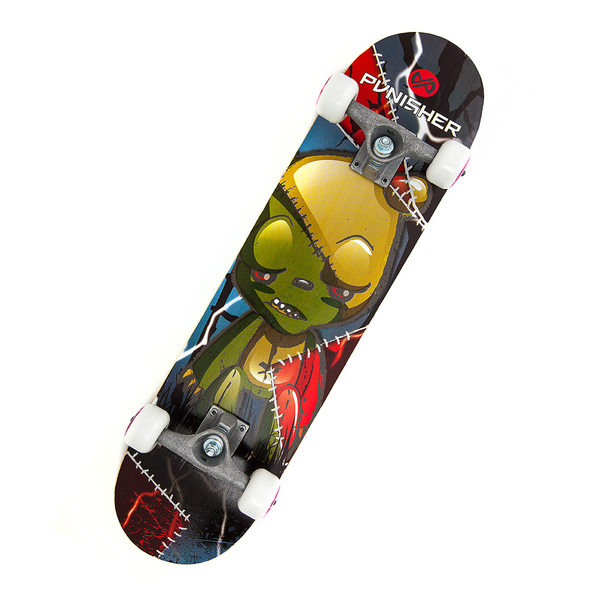 Punisher Skateboards Frankenbear 31-inch Complete Skateboard