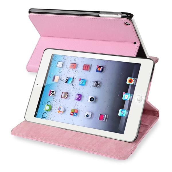 BasAcc Light Pink Leather Case for Apple iPad Mini 1/ 2 Retina Display