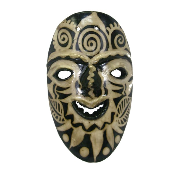 Lenca Clay Root Mask (Honduras)