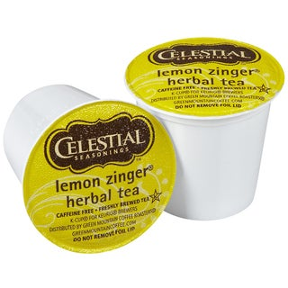 Celestial Seasonings Lemon Zinger Herbal Tea 96-count K-Cups for Keurig Brewers