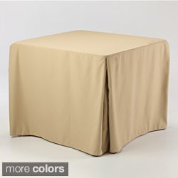 Eva Basic 34x34-inch Square Fitted Tablecloth