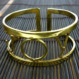 Handcrafted Brass Joy Bracelet (South Africa)