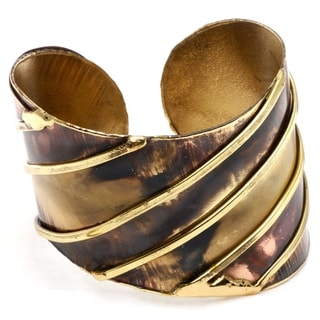 Handcrafted Brass and Copper Bracelet (South Africa)
