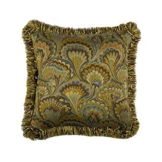 JAR Designs 'Peacock Feather' Throw Pillow