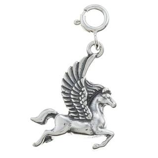 Sterling Silver Pegasus Charm
