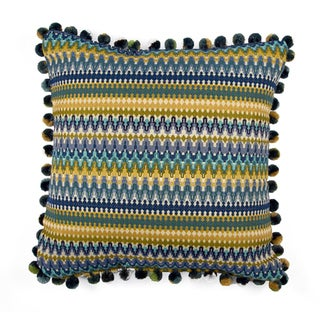 JAR Designs 'Bohemian Blue' Throw Pillow