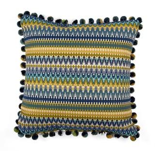 JAR Designs 'Bohemian Blue' Throw Pillow