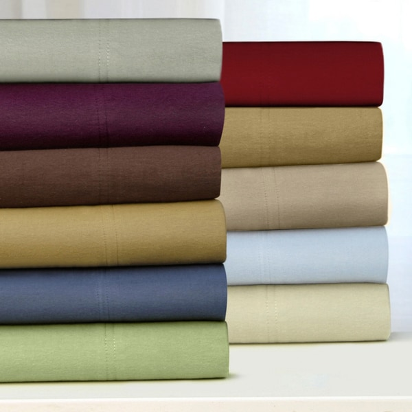 Tribeca Living Luxury Solid Flannel Sheets