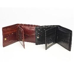 Tony Perotti Men's 'Ultimo' European Leather Tri-fold Wallet