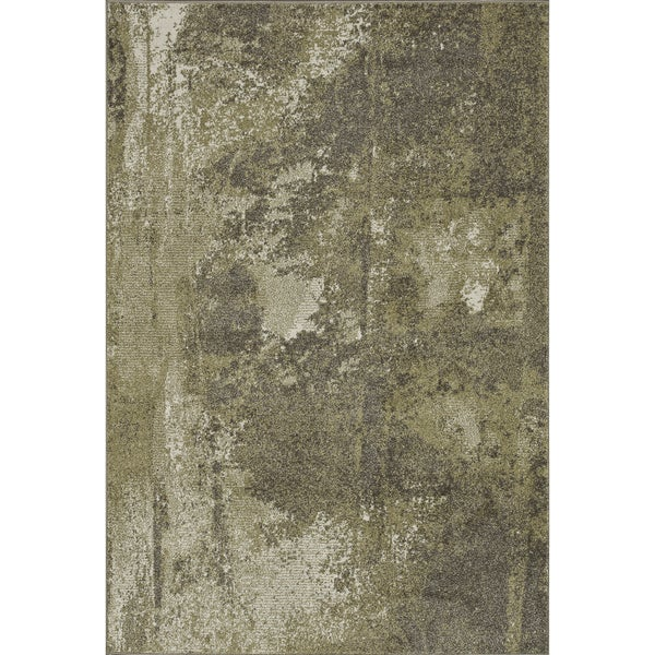 Arrakis Green/ Taupe Rug (7'7 x 10'5)
