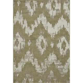 Arrakis Green/ Ivory Rug (7'7 x 10'5)
