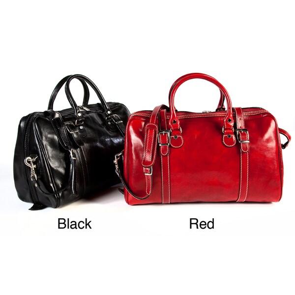 Alberto Bellucci Milano Travel Leather Bag