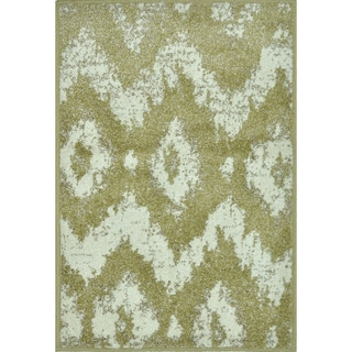 Arrakis Green/ Ivory Rug (2' x 3')