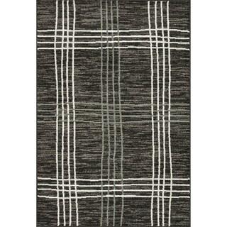 Arrakis Charcoal/ Sea Rug (5'2 x 7'7)