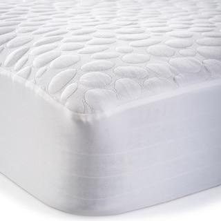 Christopher Knight Home Pebbletex Tencel Waterproof Mattress Protector - White