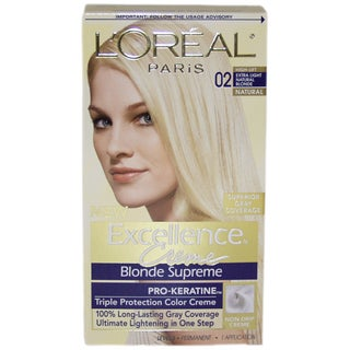 L'Oreal Excellence Creme Blonde Supreme High-Lift Extra Light Natural Blonde Hair Color