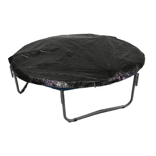 12-foot Round Black Trampoline Protection Cover