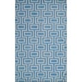Safavieh Handwoven Moroccan Dhurrie Light Blue Wool Rug