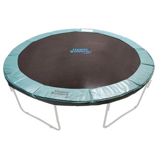 14-foot Round Green Super Trampoline Safety Pad