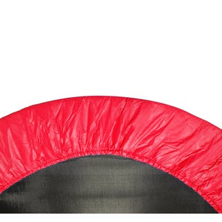 38-inch Round Red Trampoline Safety Pad for 6 Legs
